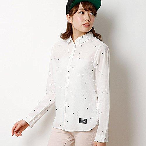 179/WG(179 WG) 星プリントシャツ【オフ/38】