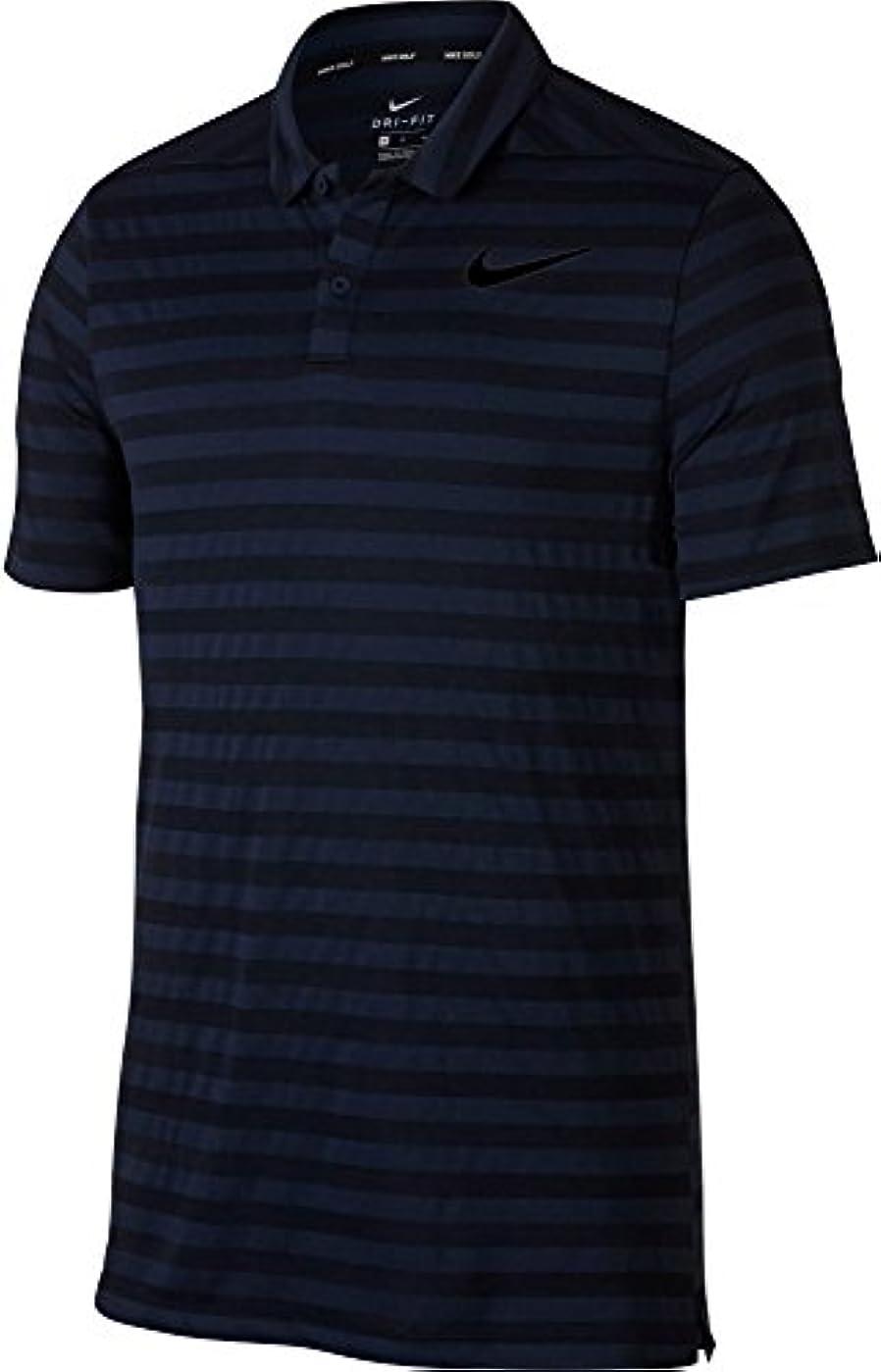 大人バズ重量[ナイキ] メンズ シャツ Nike Men's Striped Dry Golf Polo [並行輸入品]