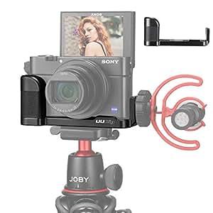 SONY RX100 VII専用ケージ L-ブラケット SONY RX100 M1-M6対応 VLOGビデオマイクシュー・ビデオライトシュー