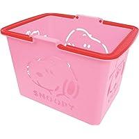 スヌーピー バスケット カラーバスケット ピンク