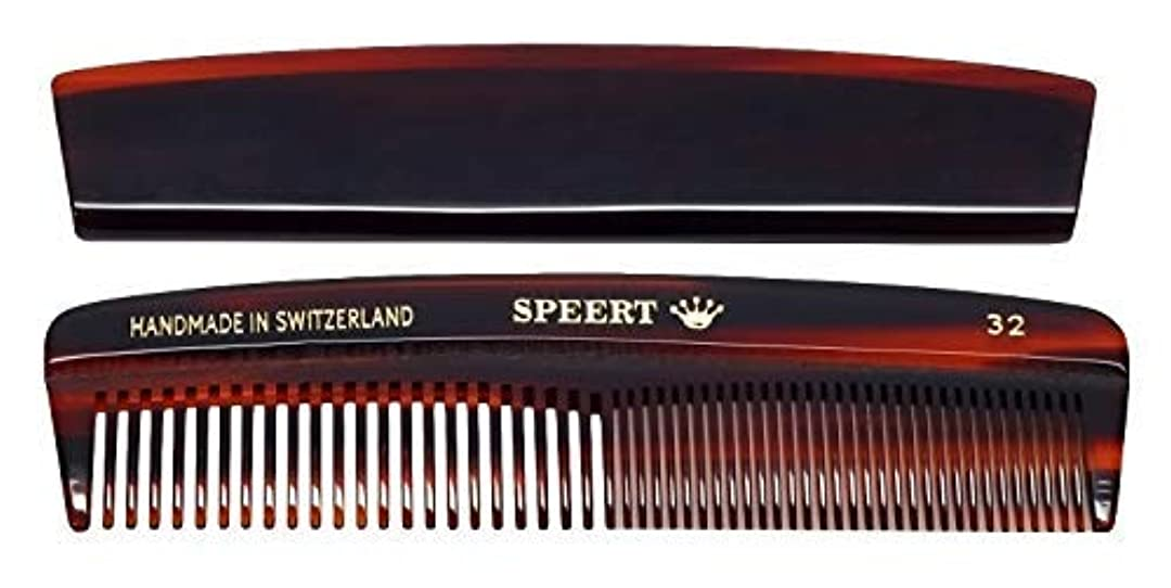 ペチュランス敷居縞模様のHand-made tortoise comb by Speert [並行輸入品]