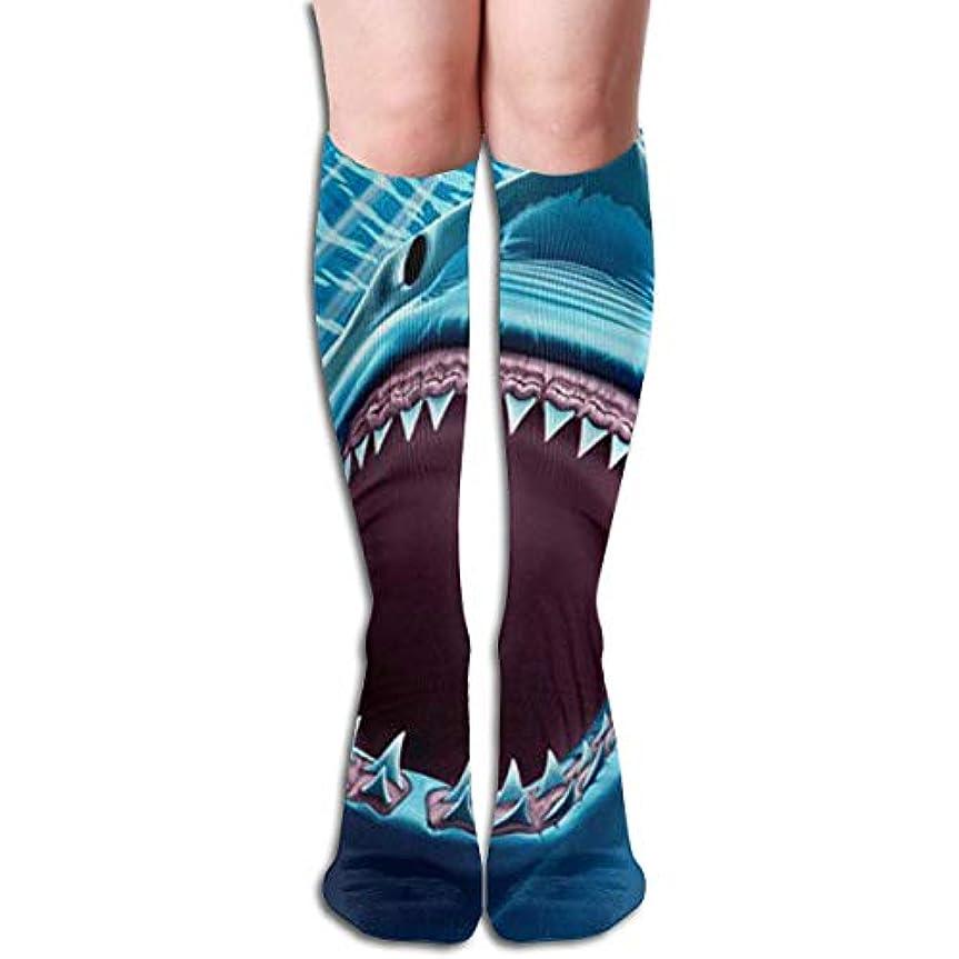 収縮スーツ協同クリスマスの靴下ファニーブルーシャーク非スリップ家庭用床靴下冬居心地の良いスリッパ靴下