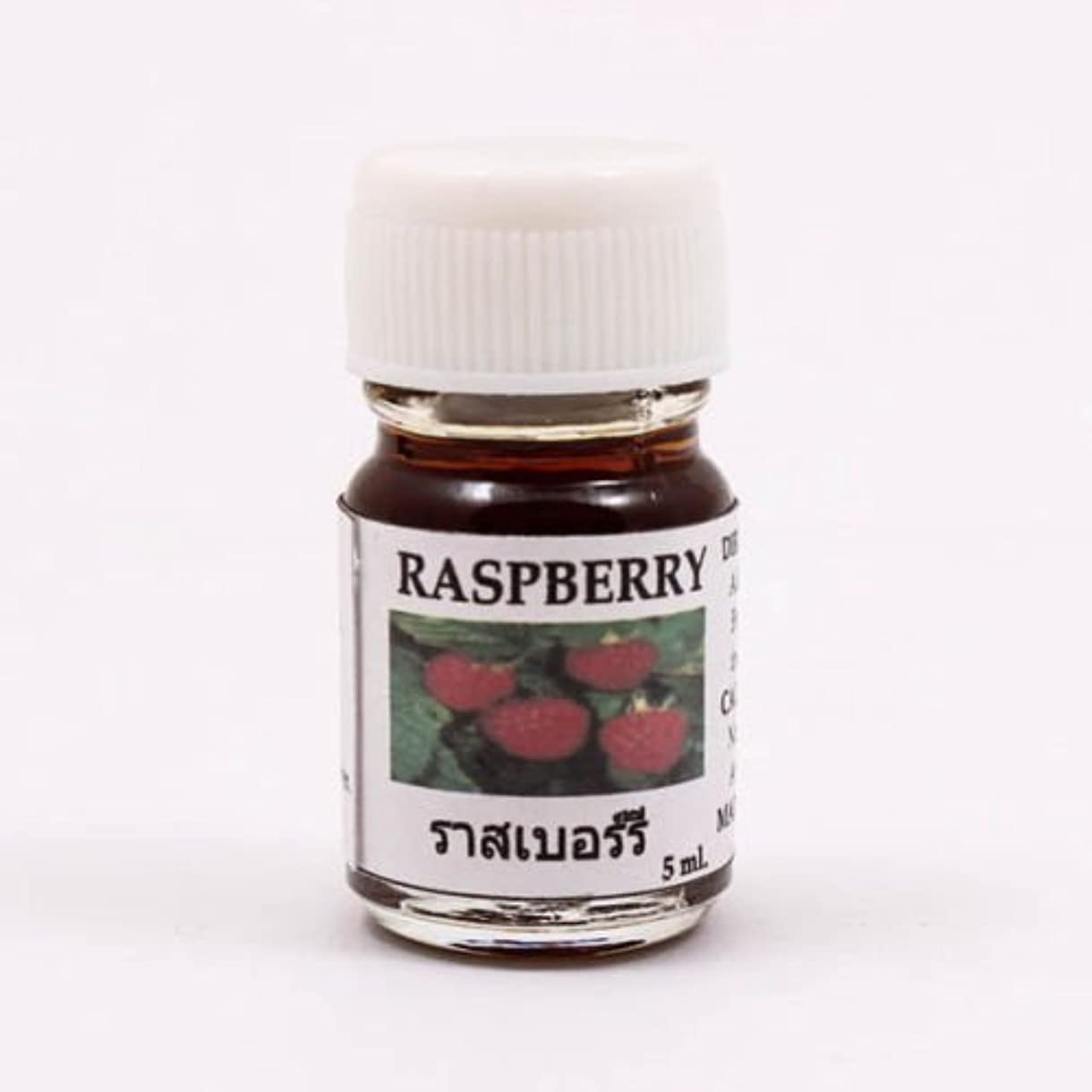 実際の差別スポンジ6X Raspberry Aroma Fragrance Essential Oil 5ML cc Diffuser Burner Therapy