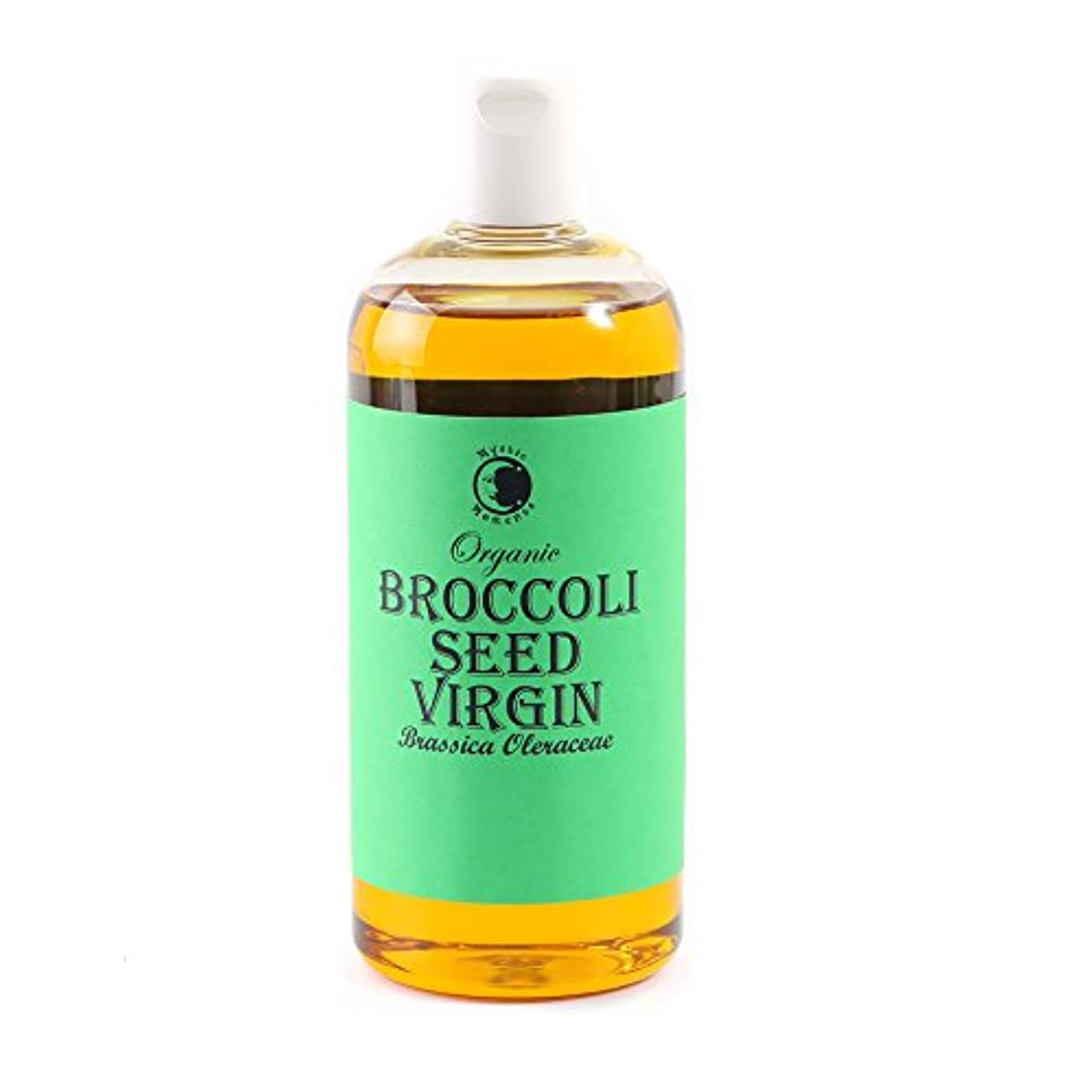 モード彫刻降雨Mystic Moments | Broccoli Seed Virgin Organic Carrier Oil - 500ml - 100% Pure