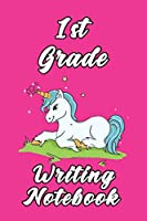 1st Grade Writing Notebook: 6x9 Unlined 120 pages Glossy writing Notebook of Grades for Boys and girls