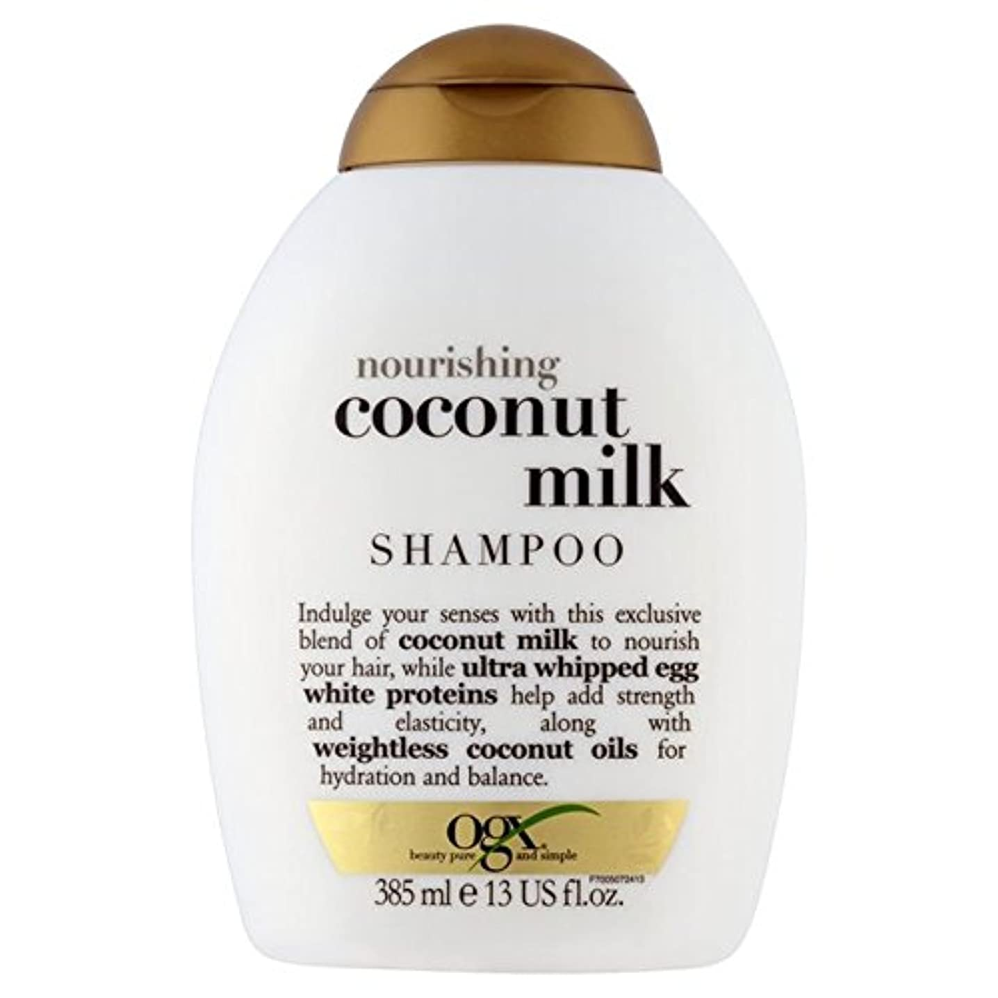 ジャズ胸陸軍Ogx Coconut Milk Shampoo 385ml - ココナッツミルクシャンプー385ミリリットル [並行輸入品]