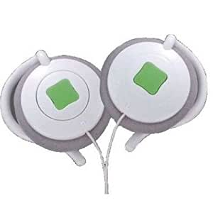 iBUFFALO Arvel AV用ヘッドホーン ipodカラー クリップタイプ グリーン DHP401GN