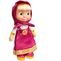 Soft toy Masha sings and talks11 inches, Masha and the bear toys, Masha y el oso, russian doll Masha best choice for birthday by RusToyShop