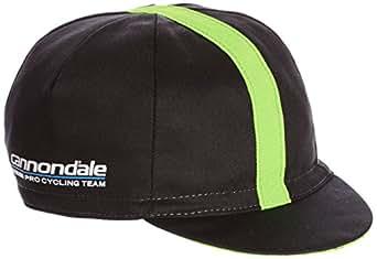 (キャノンデール / カステリ)Cannondale キャノンデールプロサイクリングチーム サイクリングキャップ LA7186M  Black/SprintGreen ONESIZE