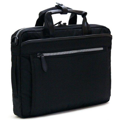Urban Road[アーバンロード]多機能ビジネスバッグ 軽量撥水 PC用ポケット付き A4ファイル対応 メンズ ブラック