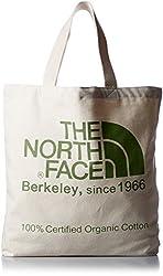 [ザ・ノース・フェイス]トートバッグ TNF Organic Cotton Tote ナチュラル×フラッシュライトグリーン