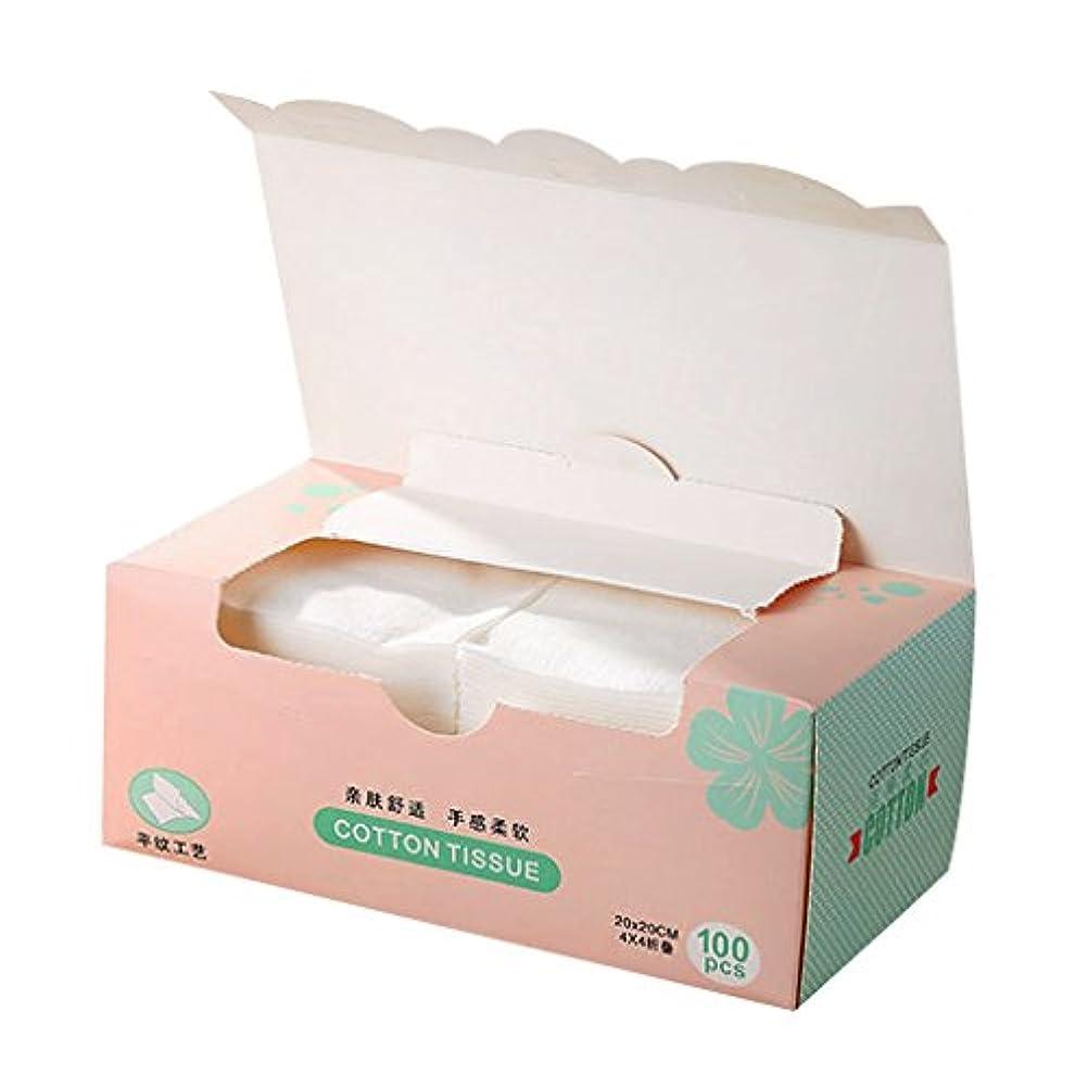 ハンドブック操作世界的にPerfeclan 1箱 使い捨て フェイスタオル メイクリムーバー 顔用タオル 機能性 使い捨てリムー メイク