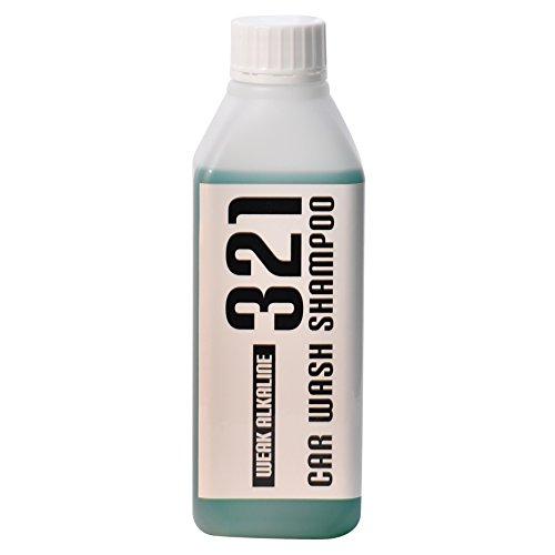 [TARO WORKS] 洗車 弱アルカリ カーシャンプー 中性洗剤で落とせない汚れに 500ml 日本製 「コーティングや...