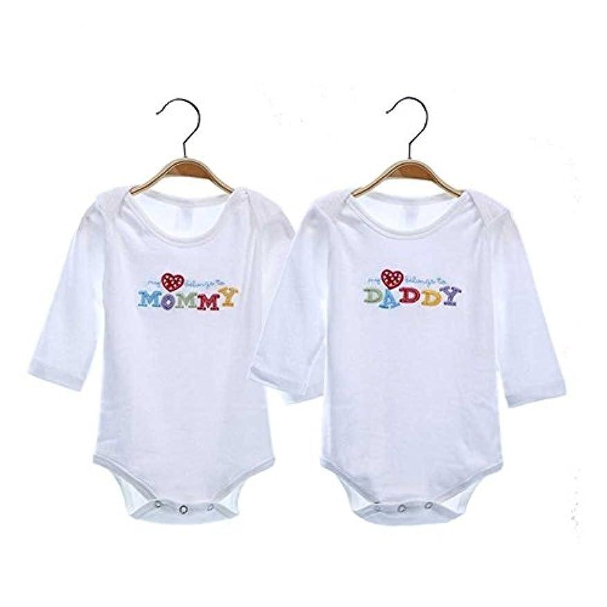 理容師遠洋のきょうだい新生児ベビー服ロングスリーブコットン刺繍ベビーロンパースガールズボーイズ衣類Infantilコスチューム
