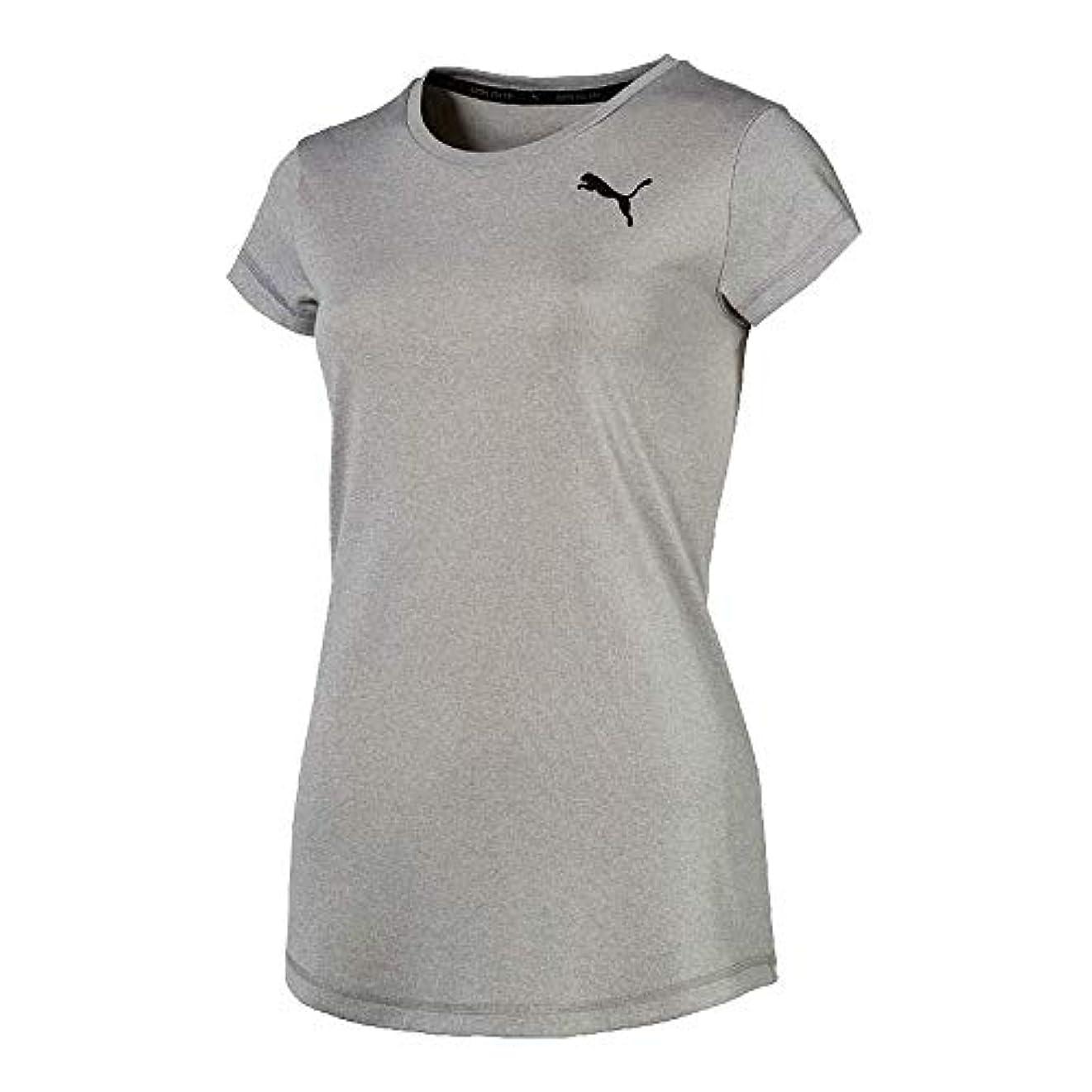 秀でる貫通するブート[プーマ] ACTIVE SS Tシャツ レディース