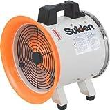 スイデン(suiden) 送風機 軸流ファンブロワ ハネ200mm 単相100V SJF-200RS-1