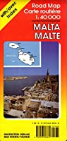 Malta: International Road Maps/With Separate Index (Ravenstein International Maps)