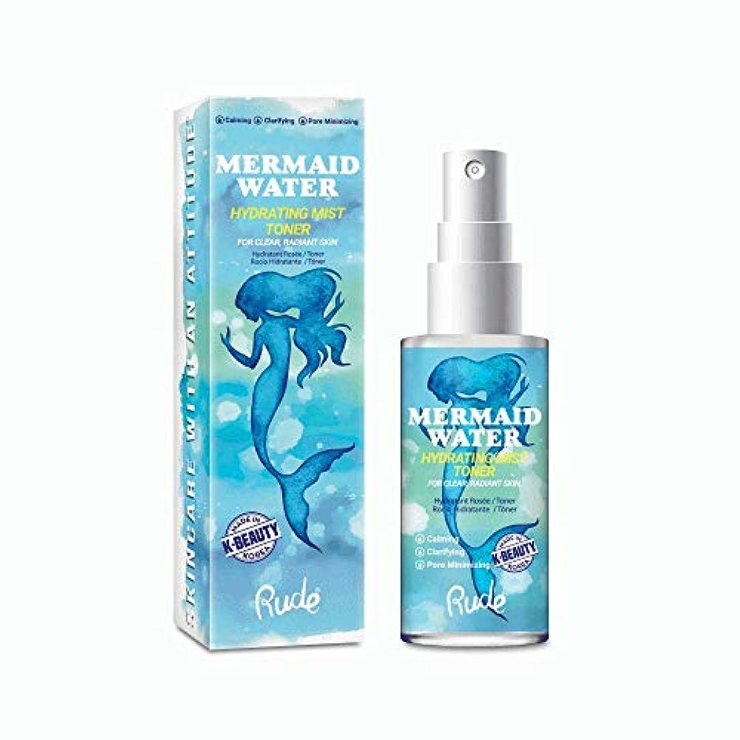 避ける議論する全国(6 Pack) RUDE Mermaid Water Hydrating Mist Toner (並行輸入品)