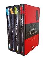 Sherlock Holmes: Vier Romane: Eine Studie in Scharlachrot - Der Hund der Baskervilles - Das Zeichen der Vier - Das Tal der Angst