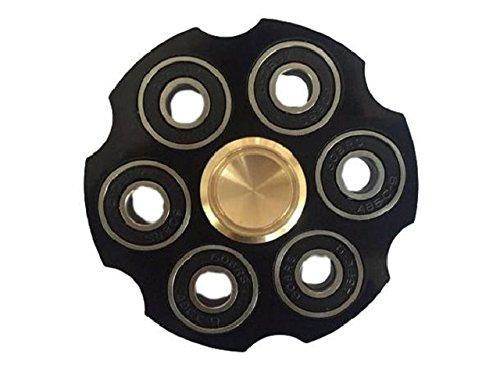 (ハジメハジメ)hazime×hazime ハンドスピナー リボルバー型 フォーカス玩具 重量感 高速 回転 持続