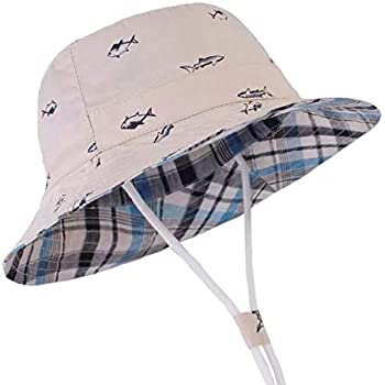f7957a39d997f Azue ベビー帽子 赤ちゃん 日焼け止め こども用 帽子 キャップ サファリハット 女の子 男の子 男女児
