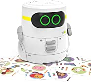 REMOKING STEM Educational Robot Toy,Dance,Sing, Guess Card Game, Speak Like You, Touch Control,Recorder,Intera