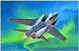 トランペッター 1/72 ロシア空軍 MiG-31BM フォックスハウンド /Kh-47M2 キンジャル空中発射弾道ミサイル プラモデル 01697