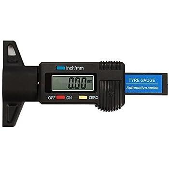 Pumpkin デジタル デプスゲージ タイヤ溝 測定 0-25mm (Y0039)
