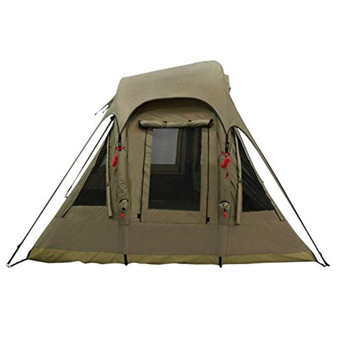 アンティーク銃シンプトンポーランド人の空気コラムのない屋外の膨脹可能なテントの自動テントのキャンプ5-8人のテント