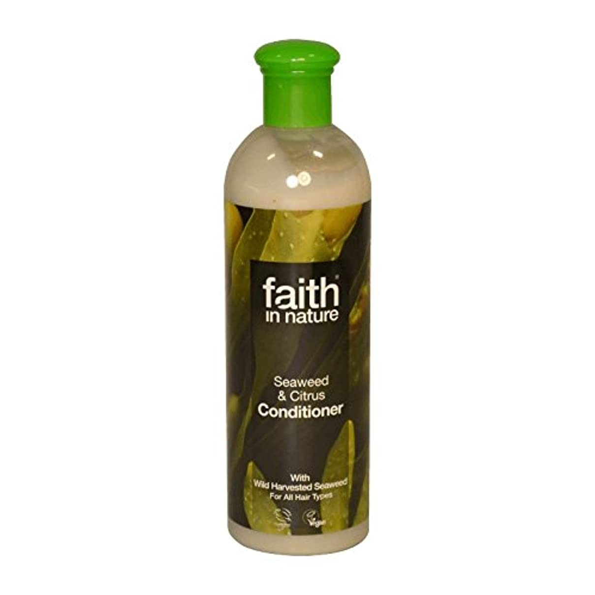 近々ライムスライムFaith in Nature Seaweed & Citrus Conditioner 400ml (Pack of 2) - 自然の海藻&シトラスコンディショナー400ミリリットルの信仰 (x2) [並行輸入品]