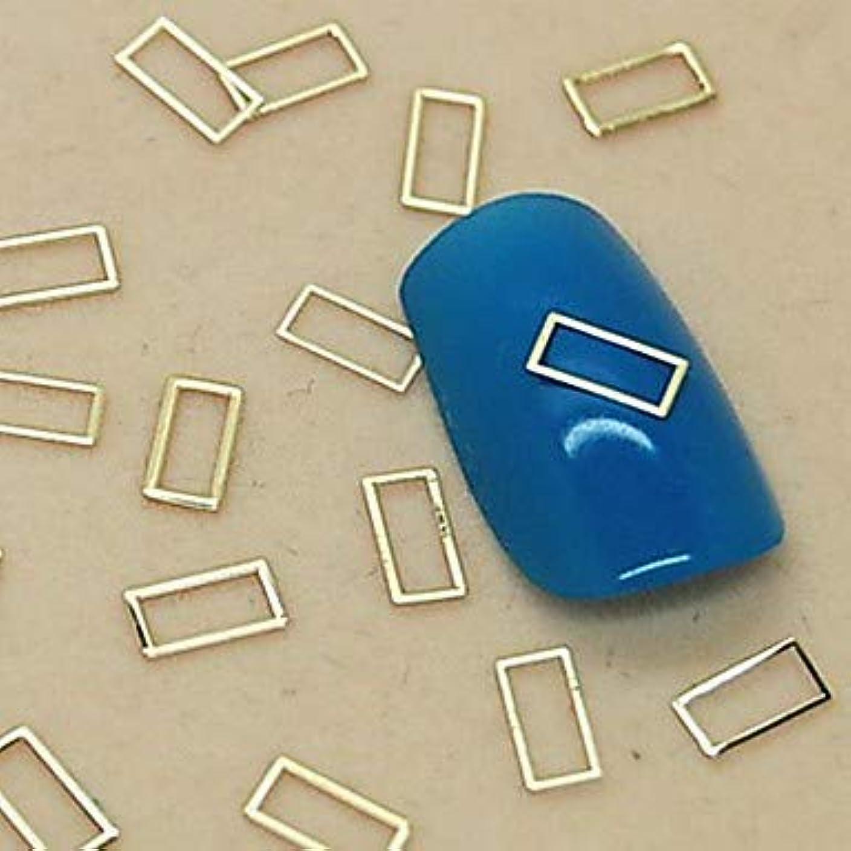 倉庫可決超越する3D超薄金スムーズロの字型の装飾DIY合金のデザインネイルアートマニキュアアクセサリー