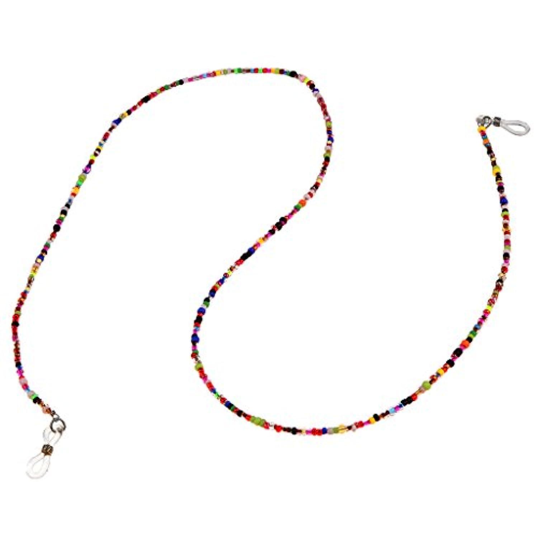 SONONIA 眼鏡チェーン サングラスチェーン カラフル 小さなビーズ 調整可能 使いやすい ファッション 装飾