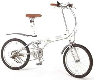 TRAILER(トレイラー) 20インチ折畳み自転車 艶消しカラーシリーズ グローイングフラット 艶消しホワイト BF206 -WH