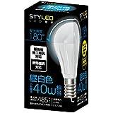 スタイルド LED電球 口金直径17mm 小形電球タイプ 4.4W 485lm (昼白色相当・密閉器具/断熱材施工器具対応・小形電球40W相当) LA4T17N1