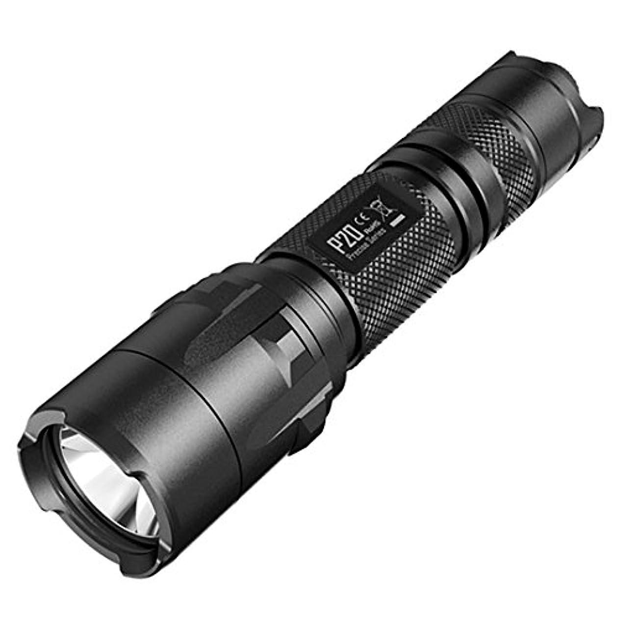 冷酷なチャペルどのくらいの頻度でNitecore p20 TacticalストロボReady 800ルーメンLED懐中電灯、ブラック