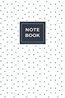 Notebook: ~ Blank Wide Ruled with Line for Date Notebooks and Journals (Minimalistic Edition)