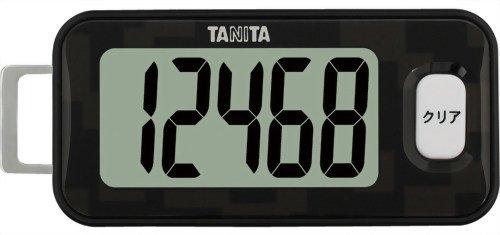 タニタ 3Dセンサー搭載歩数計 クロ FB-731-BK(1台)