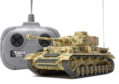 1/35RC ドイツIV号戦車J型 (4chユニット付き)