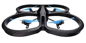 【国内正規品】Parrot AR.Drone 2.0 Power Edition 自動安定ホバーリングクワッドコプター・30fps HDカメラ ・「HDバッテリー」×2本(36分飛行可能)・室内/室外ハール付スマホ/タブレットで操作  PF721216