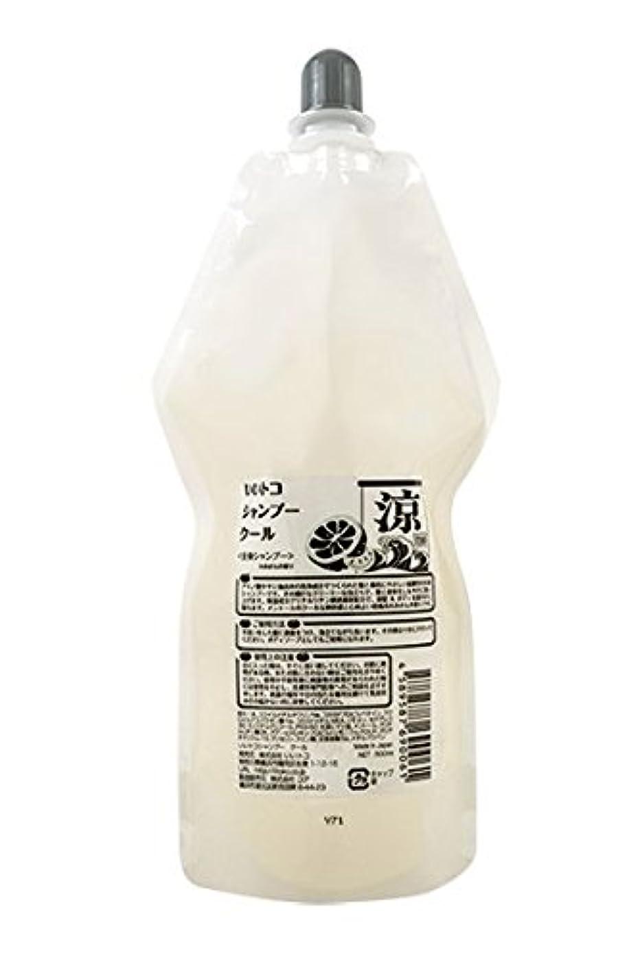 パーティー有害な農業フレッシュな『みかん(リモネン高配合)』の香りが心地良い弱酸性全身シャンプー メントールのクールな爽快感 春夏用 いいトコシャンプークール 500ml詰替用