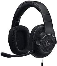 【Amazon.co.jp限定】Logicool G ロジクール G ゲーミングヘッドセット G433BK PS5 PS4 PC Switch Xbox 有線 Dolby 7.1ch 3.5mm usb 軽量 ノイズキャ