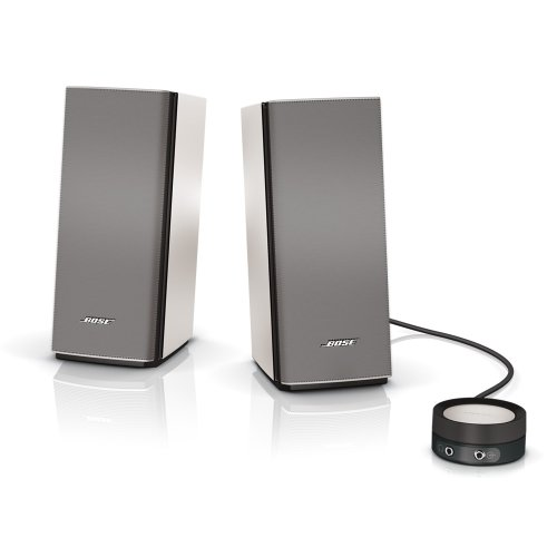 Bose Companion 20 multimedia speaker system : PCスピーカー バスレフ型 シルバー Companion20【国内正規品】