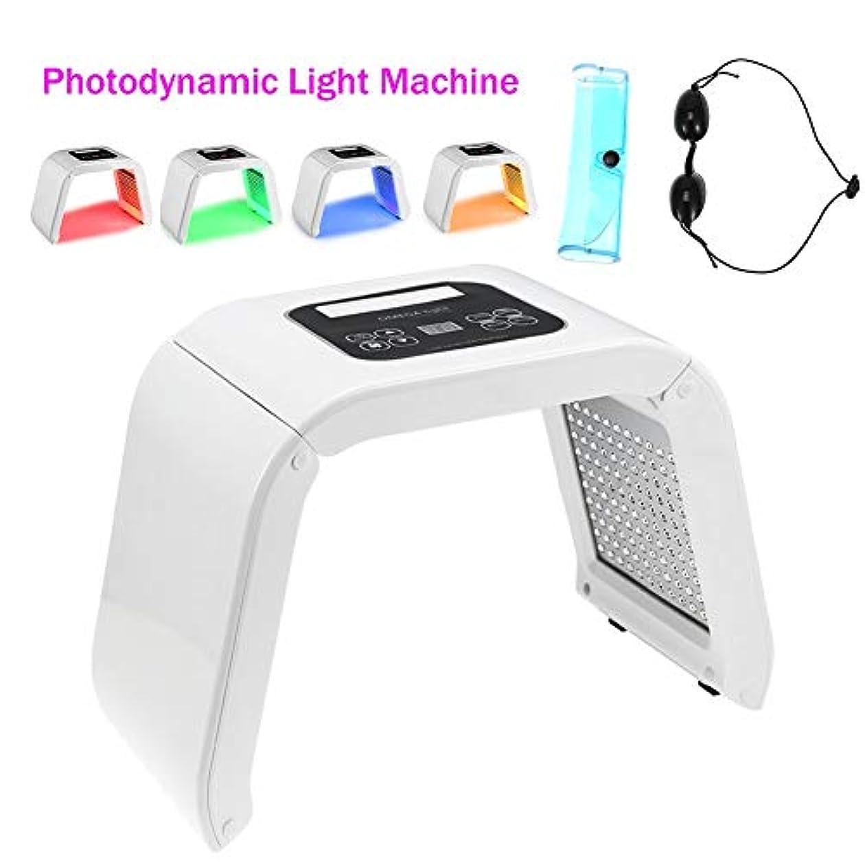 に対応歯科医影響を受けやすいですにきび跡のしわ除去アンチエイジング肌の若返りフェイシャルケアフェイシャルトーンデバイスフォトンセラピー4色LEDライトビューティーマシン