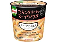 クノール スープDELI たらこクリームスープパスタ(豆乳仕立て) 44.7g 24カップ(4ケース)