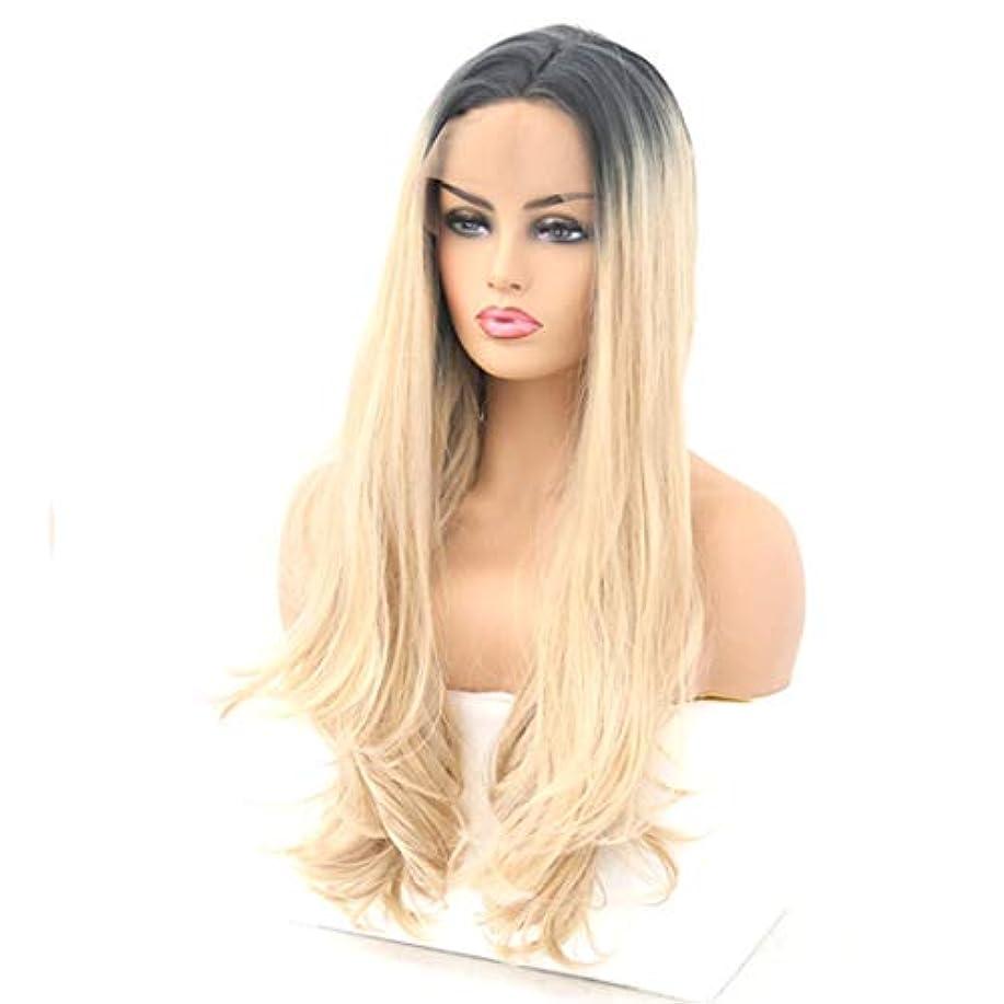 申請中適応的セグメントSummerys レディースウィッグ高密度耐熱性人工毛ウィッグフルウィッグウィッグ (Size : 26inch)