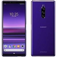 New Unused 802SO Xperia1 Softbank Purple Fully Unlocked