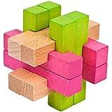 colourful cage知育玩具の創造的な減圧玩具のロックを解除するために設定されたボールカラーロックソリューションをケージに入れる