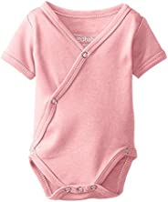 L'ovedbaby Unisex-Baby Newborn Organic Short-Sleeve Kimono Body