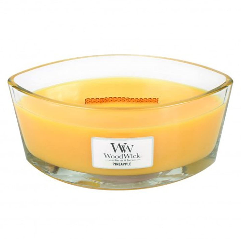 寮熟読する相対性理論パイナップル – Hearthwick Flame Scented Candle by WoodWick