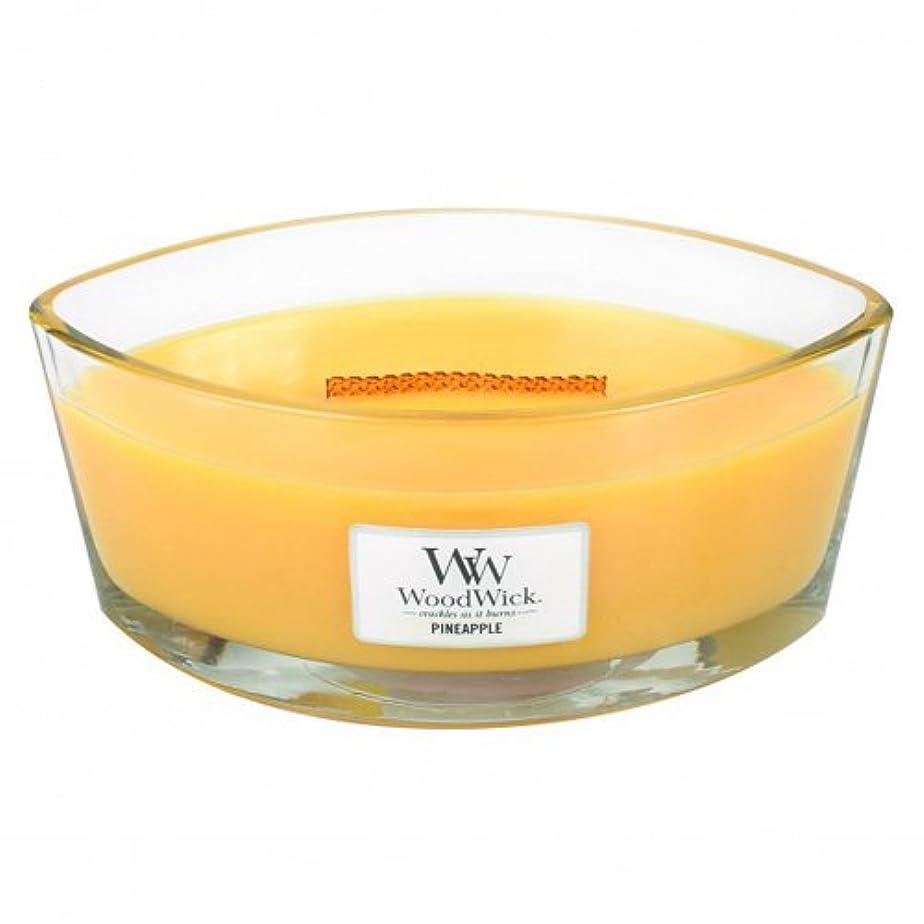 落ち着かないピジンケージパイナップル – Hearthwick Flame Scented Candle by WoodWick